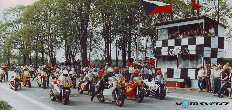 1987 Městec Králové start 500 ccm