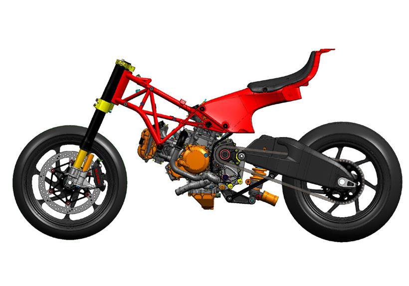 Ducati Desmosedici RR video - výfuk a tlumiče