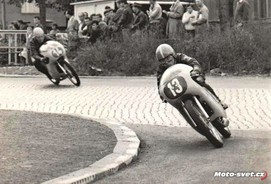Most 1965 - J.Tázler - ČZ 175..