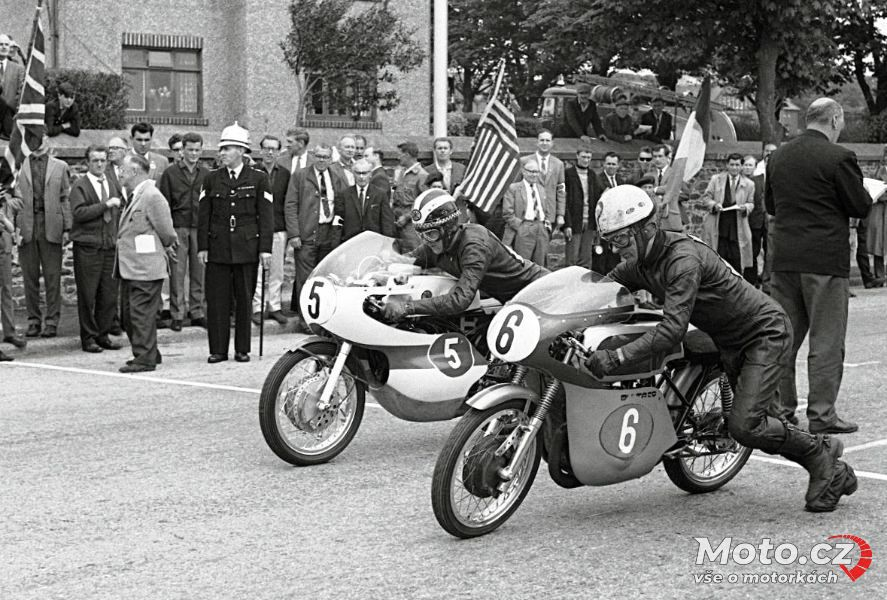 075 - TT 1965, Phil Read #5 - Yamaha 250