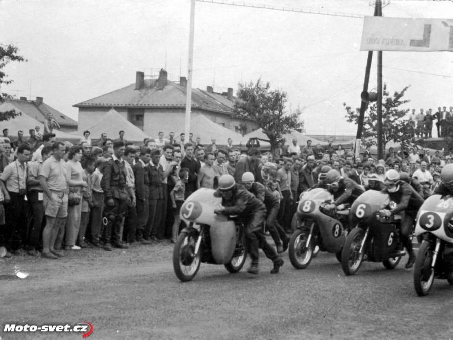 Historie bývalého motocyklového okruhu Louny